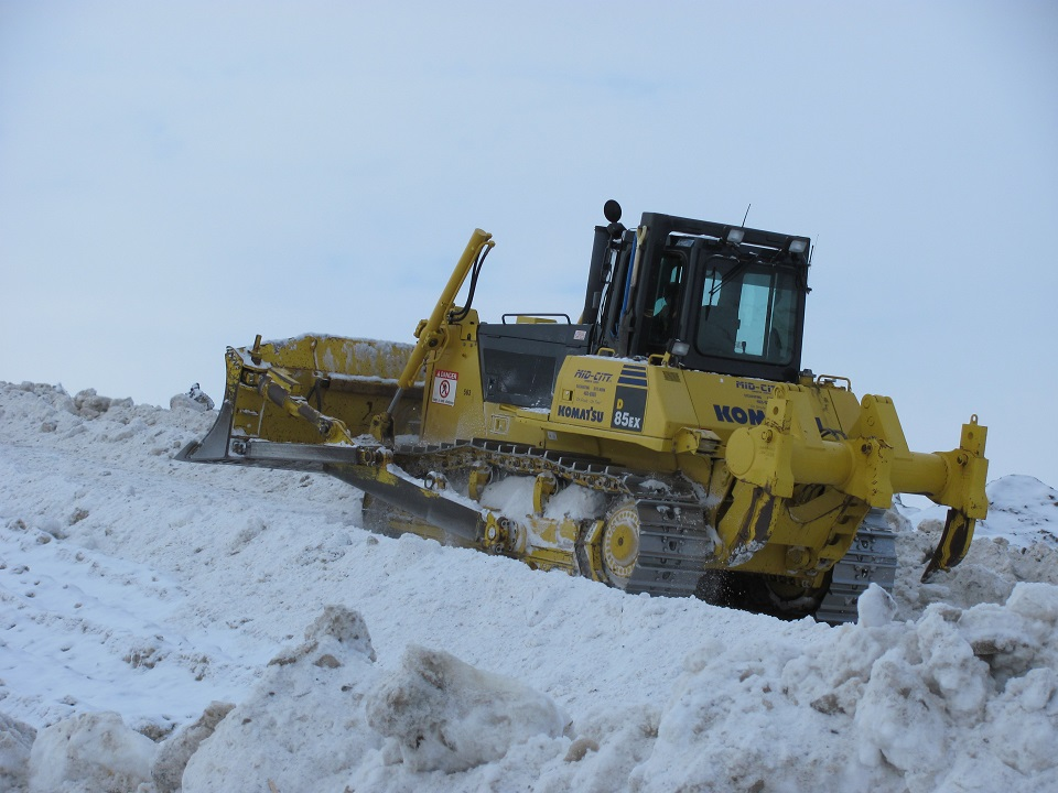 Snow Removal Going Up Mid-City Construction Management