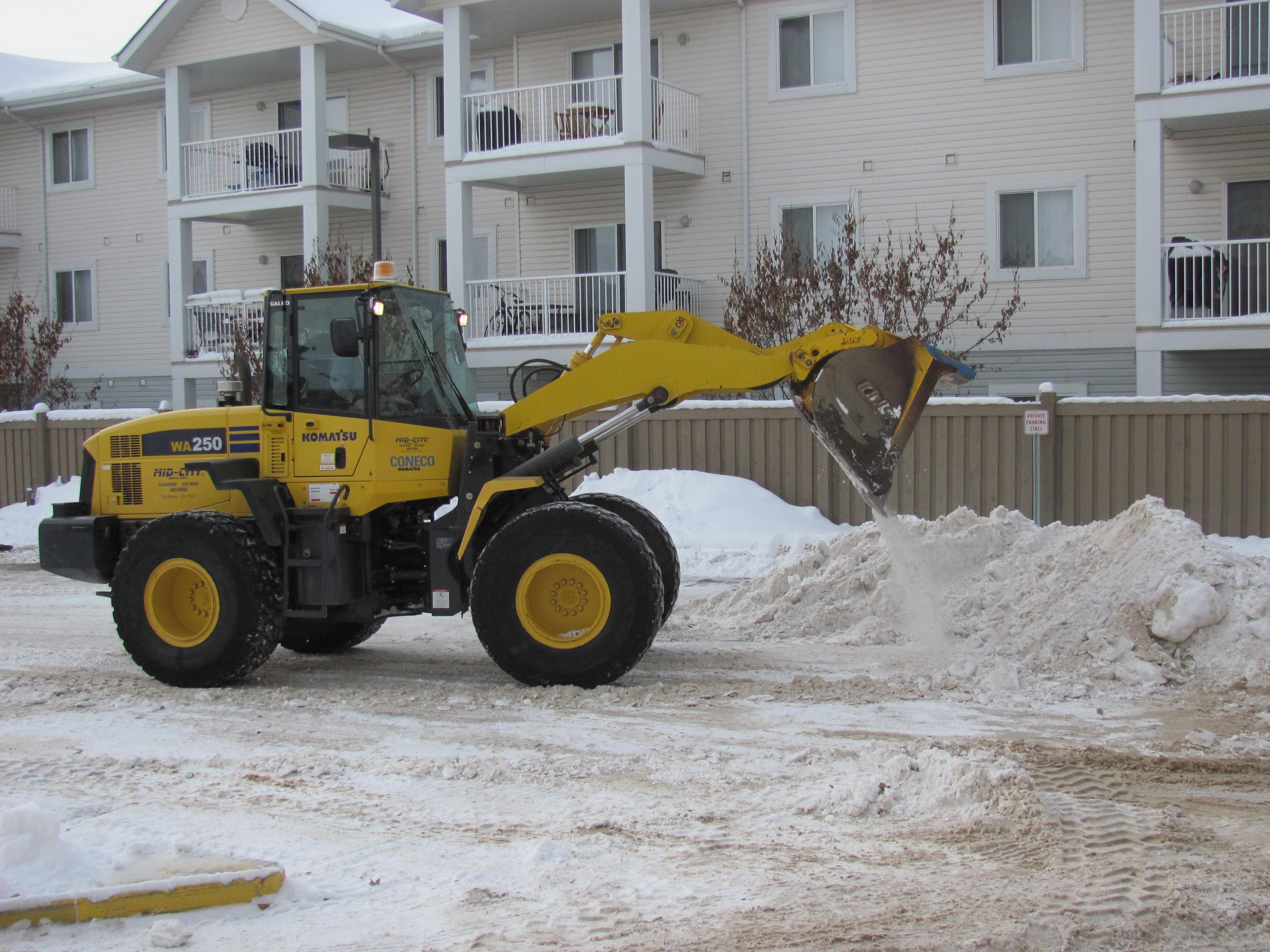 Snow Removal - Mid-City Construction Management